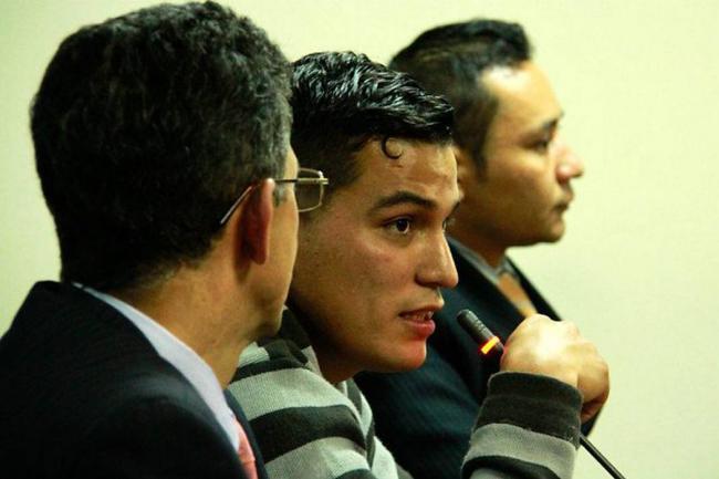 Condenan al patrullero Alarcón por muerte de Diego Felipe Becerra