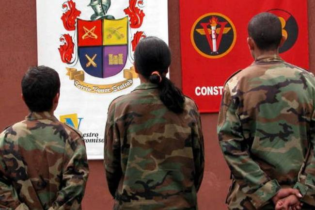 Inicia salida de menores de los campamentos de las FARC-EP