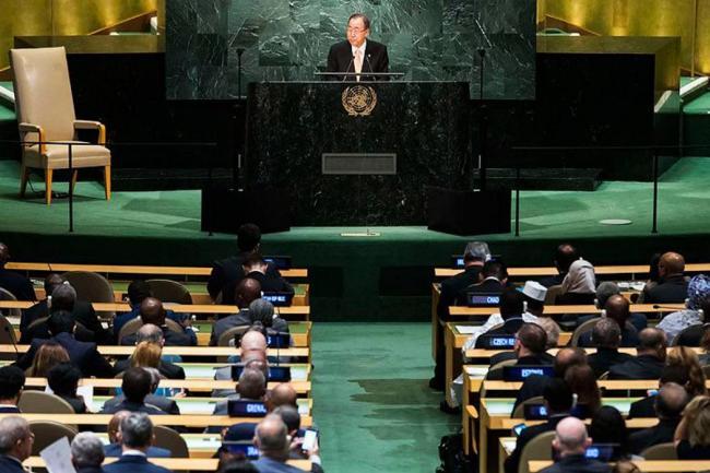 Asamblea de la ONU clama por la paz en Siria