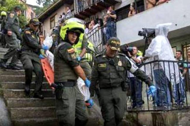 En Medellín un hombre atacó con machete a nueve personas