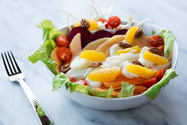 Recetas con frutas for Comida vanguardia