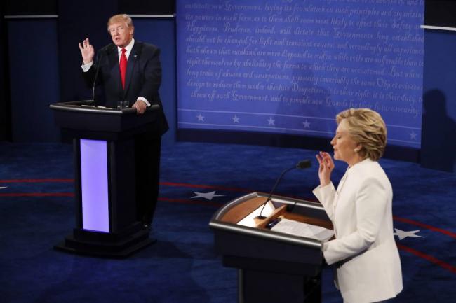 Hillary Clinton se impone en tercer debate presidencial — Elecciones en EEUU