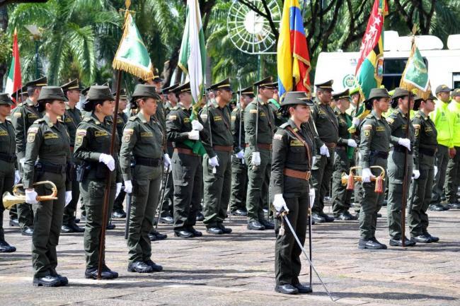 Polic A Nacional Conmemor Sus 125 A Os De Servicio A La