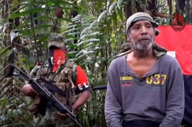 Capturan a 12 guerrilleros del ELN y rescatan a 8 menores reclutados