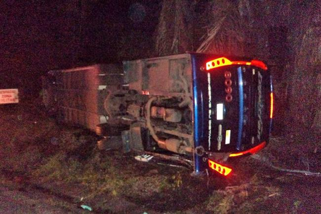 Accidente en Puerto Salgar dejó cinco muertos