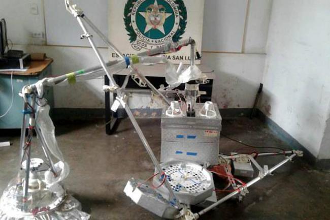 Cayó satélite de Google en zona rural de San Luis, Tolima