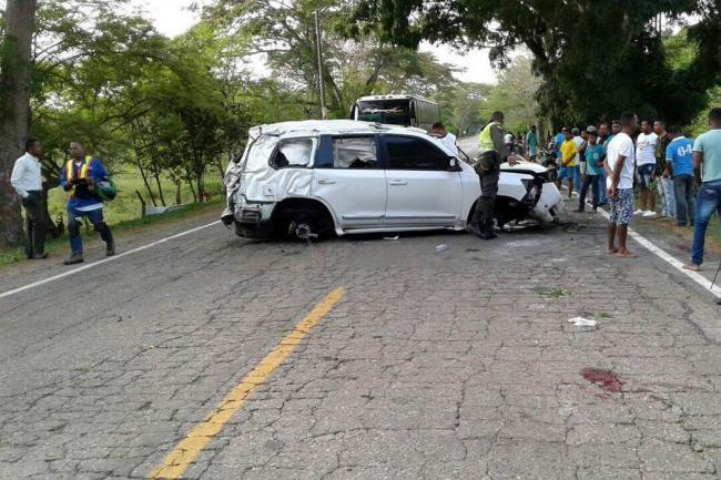 Cansancio y exceso de velocidad fueron determinantes en accidente de Martín Elías