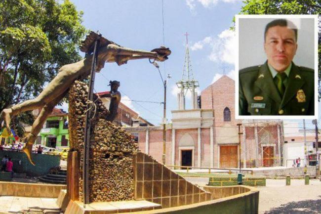 Otro policía asesinado en Antioquia