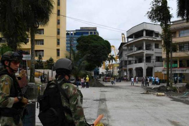 Santos condena los saqueos en Buenaventura