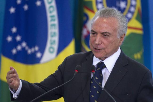 Temer envía a las Fuerzas Armadas para reprimir protestas en Brasilia
