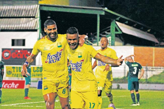 Millonarios y Bucaramanga dividieron honores en cuartos de final