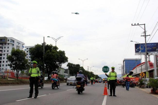 Más de 600 conductores sancionados en inicio del puente festivo