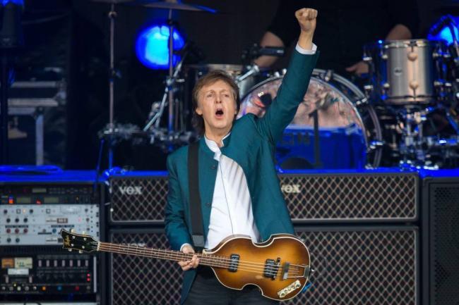 Paul McCartney anuncia que dará concierto en Colombia el 24 de octubre
