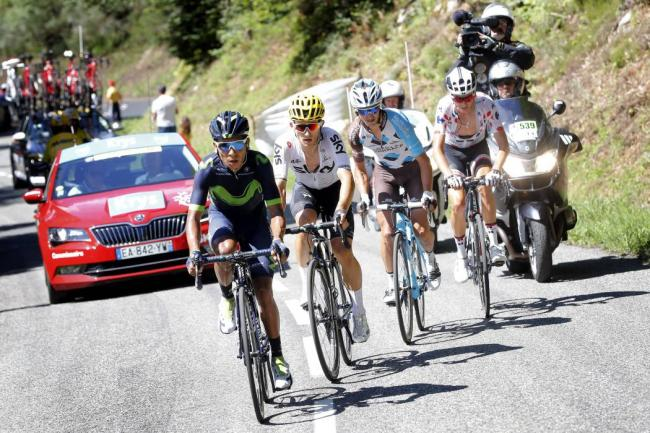 Quintana se descarta para la general del Tour