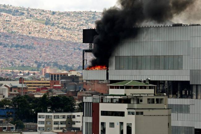 Explosión en el norte de Bogotá deja 26 personas heridas
