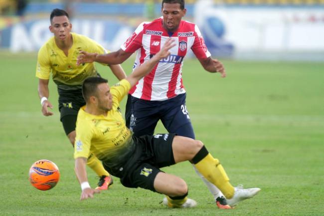 Junior de Barranquilla perdió su invicto ante Alianza Petrolera en Barrancabermeja