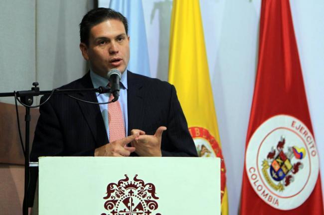 En firme aspiración presidencial de Juan Carlos Pinzón