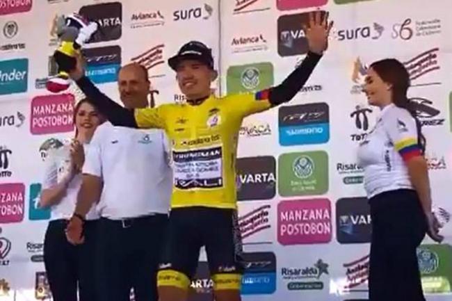 Serpa gana la 7ma etapa — Vuelta a Colombia