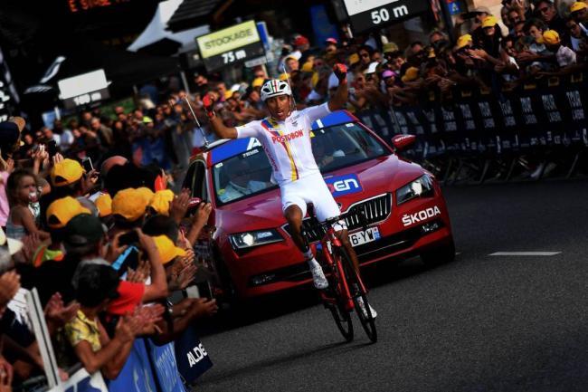 Tomada del Facebook del Tour de L'Avenir / VANGUARDIA LIBERAL