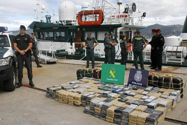 Detienen argentino con 470 kilos de coca en España