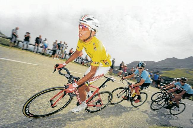 Tomada del Twitter del Tour de L'Avenir / VANGUARDIA LIBERAL