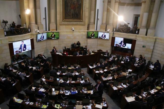 La JEP avanza sin dificultades en el Congreso