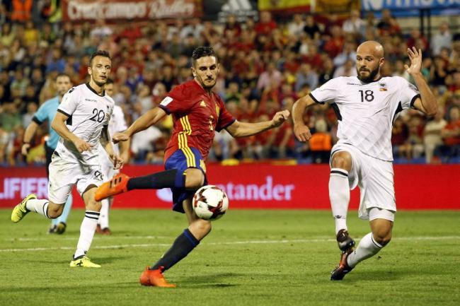 España ganó y sacó pasaje al Mundial de Rusia 2018