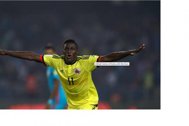 Colombia vence a Estados Unidos y avanza en el Mundial Sub 17