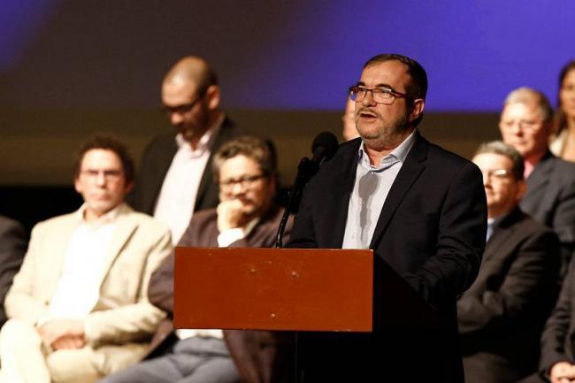 Rodrigo Londoño e Imelda Daza, la fórmula presidencial de la Farc