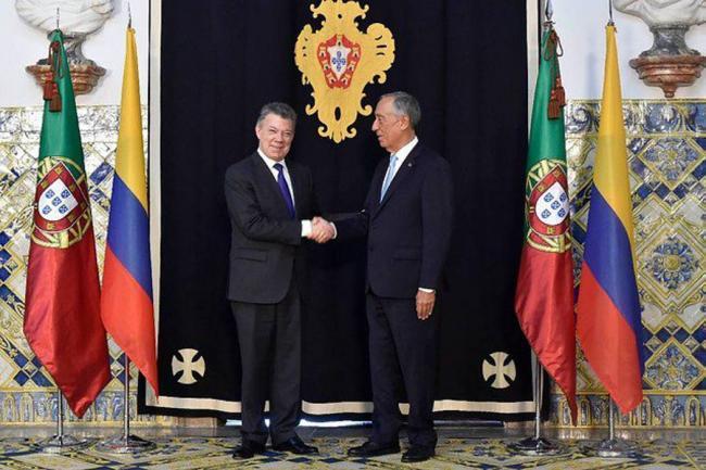 Portugal ofreció su ayuda a Colombia para el posconflicto