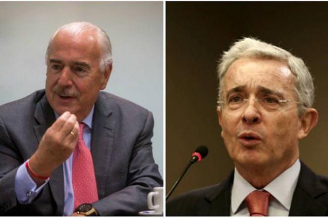 Álvaro Uribe y Andrés Pastrana anuncian alianza para elegir candidato presidencial
