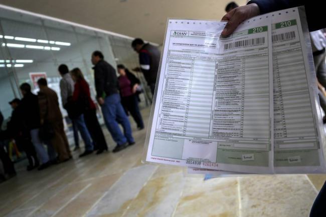 Recaudación de impuestos en Colombia sube 14,4% interanual en noviembre