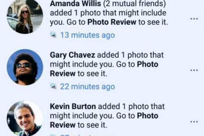 Facebook avisará si suben fotos tuyas antes que te etiqueten