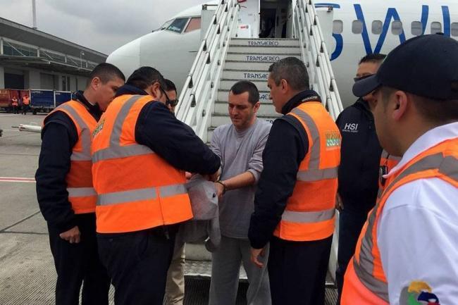 Jefe paramilitar, alias 'HH', fue deportado a Colombia