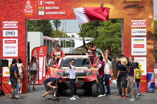 Despres se quedó con la segunda etapa — Rally Dakar