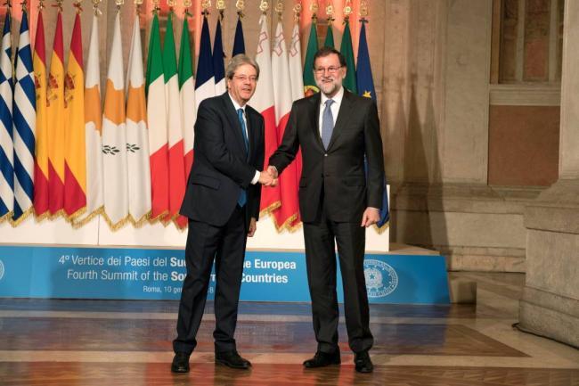 Países mediterráneos aprueban en cumbre en Roma su declaración final
