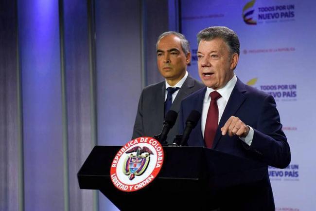La fuerte arremetida de Santos contra su homólogo Nicolás Maduro