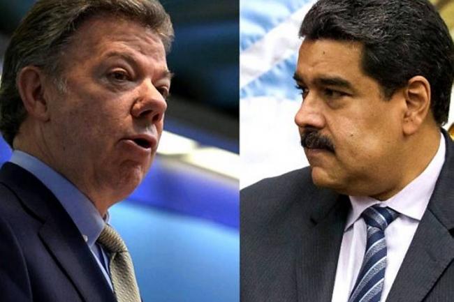 Santos envía enérgica respuesta a Maduro