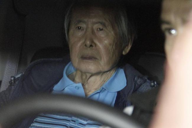 Expresidente Fujimori en el hospital por arritmia cardíaca