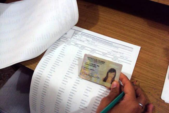 28 municipios del país triplicaron la tasa promedio de inscripción de cédulas