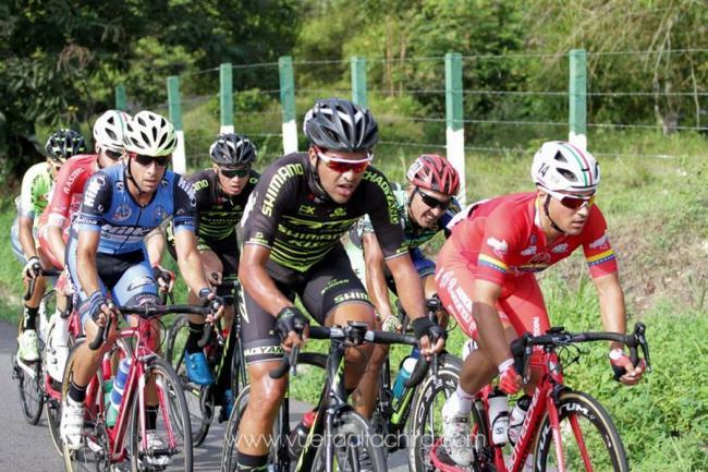 Costarricense Rivera prevalece en séptima etapa de Vuelta al Táchira