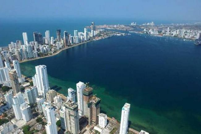 Fiscal advierte riesgo de desplome en 16 edificaciones en Cartagena