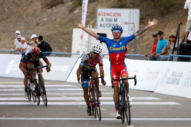 Román Villalobos es el mejor en equipo mexicano de Vuelta Ciclista