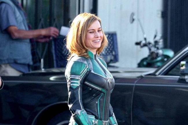 FOTOS | Se filtran fotografías de Brie Larson como Captain Marvel