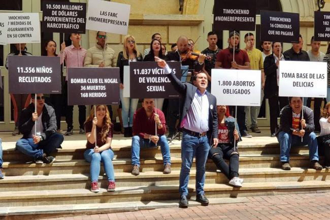 'Timochenko' hace oficial su candidatura por la Presidencia