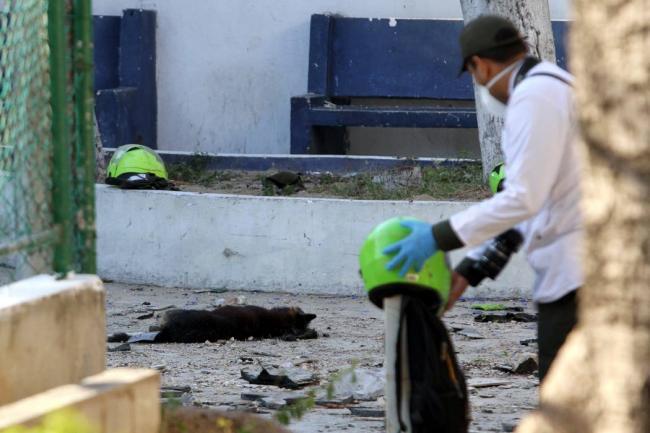 Analizan dispositivos electrónicos incautados a presunto autor de atentado en Barranquilla