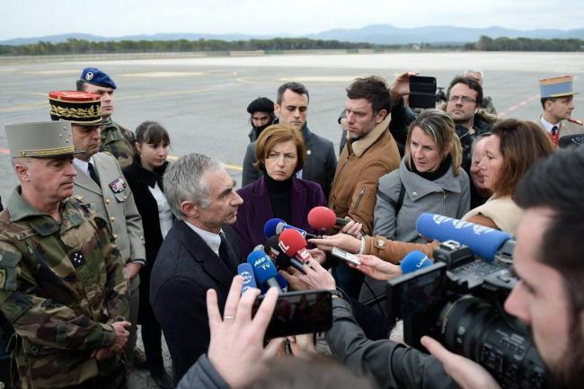 Choque mortal de helicópteros en Francia