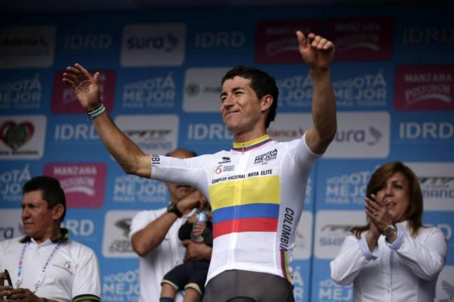 Sergio Henao, campeón nacional de ruta de Colombia