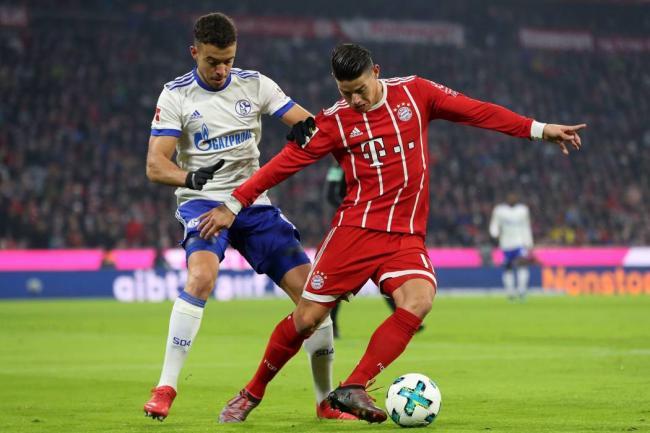James anotó el mejor gol del mes en la Bundesliga
