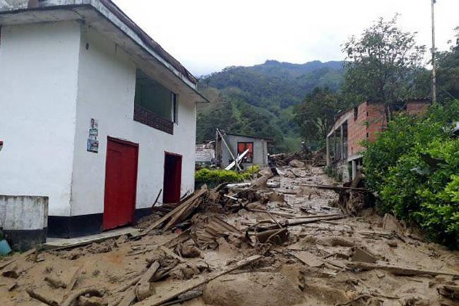 Avalancha dejó 50 familias afectadas en Puerto Venus, municipio de Nariño